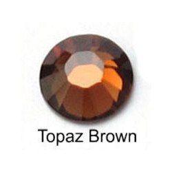 Cristais Hotfix 2mm (ss6) 1000 und - Topaz Brown